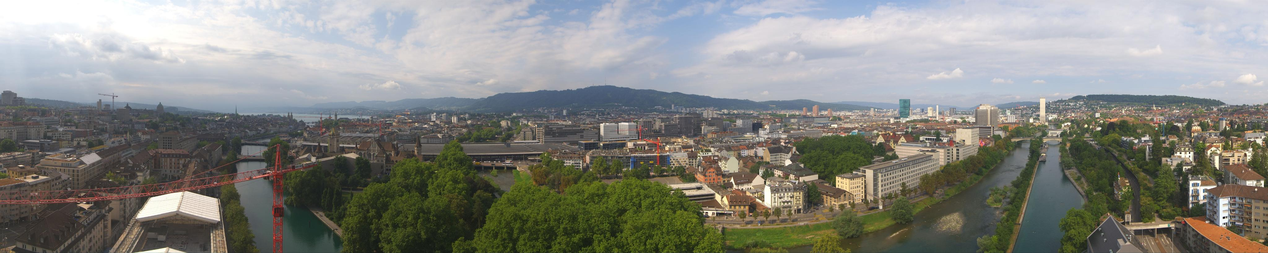 Zürich: Altstadt, Hauptbahnhof, Limmat, Sihl