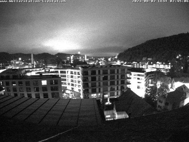 Liestal: mit Blick nach Basel Sankt Chrischona